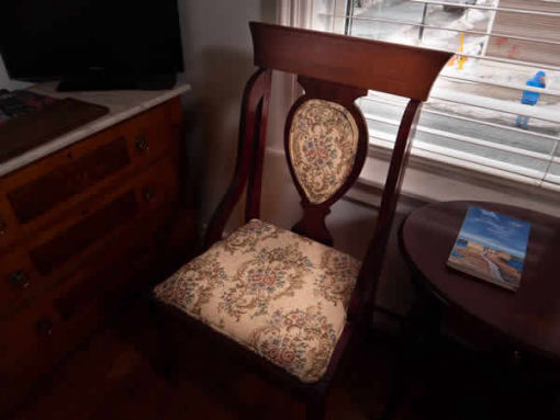 image: antique chair