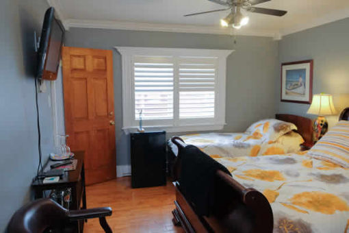 image: interior wide view of guest room